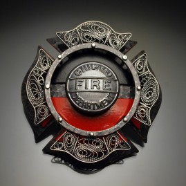 Chicago Fire Department Badges